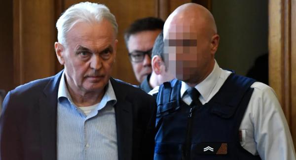André Gyselbrecht tijdens het proces