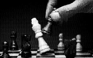 Coverfoto de schaakbordmoordenaar