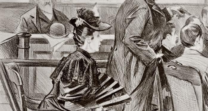 Lizzie Borden in rechtzaak